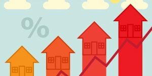 De hypotheekrente gaat (licht) stijgen